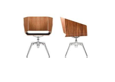 stylowe krzesło konferencyjne