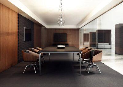 nowoczesne krzesła konferencyjne