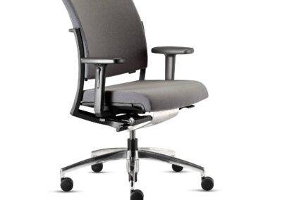 szare krzesło world