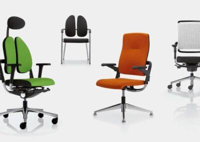 rodzaje foteli i krzeseł xenium