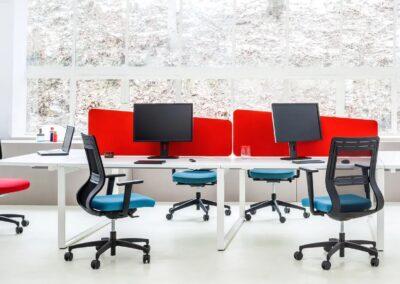 ergonomiczne biurko yan z