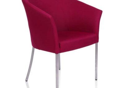 fotel konferencyjny w stylu chic