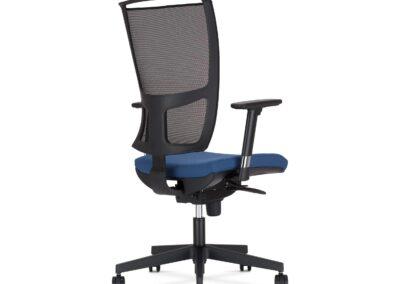 siatkowe oparcie fotela z body trade
