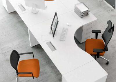 ergonomiczne biurko ogi v