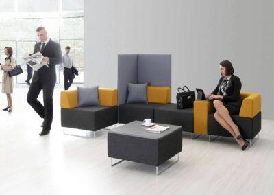 biurowa aranżacja soft seating