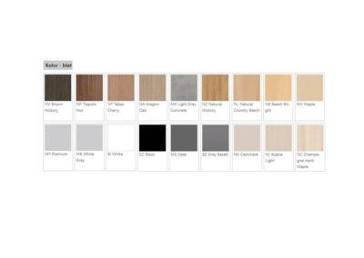 paleta barw stołu simple
