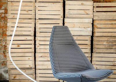 fotel soft seating w kratkę