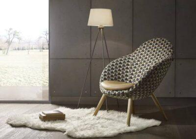 fotel soft seating w eleganckim stylu