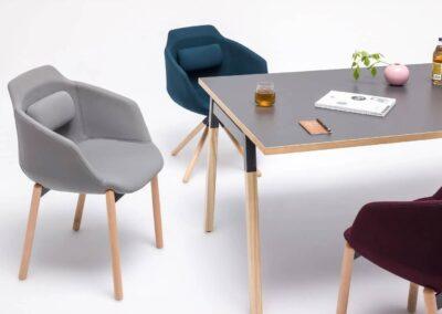 minimalistyczny stół jesionowy ogi w