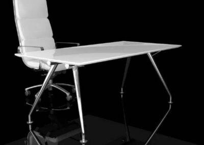 elegancki stół konferencyjny new age