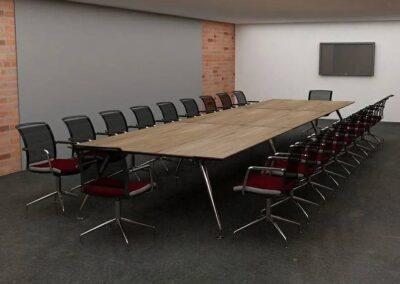 nowoczesny stół new age do sal konferencyjnych