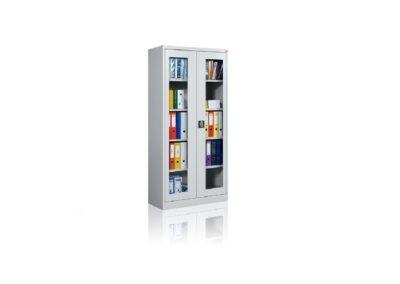 szafa biurowa ze szklanymi drzwiami